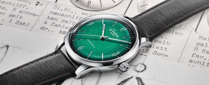 Die »Sixties« von Glashütte Original ist von der »Spezimatic« der 1960 Jahre inspiriert.