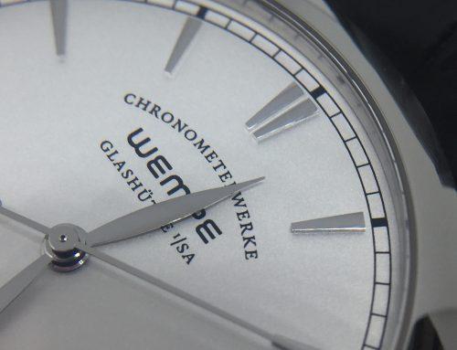 Wempe Glashütte: Chronometerwerke CW4 Automatik