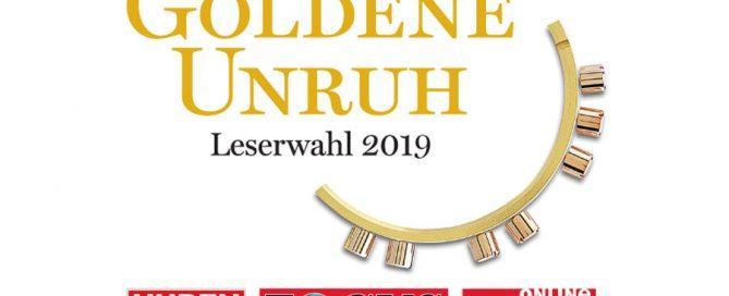 Die Goldene Unruh 2019 ist eine Leserwahl von Uhren-Magazin, Focus und Focus-online
