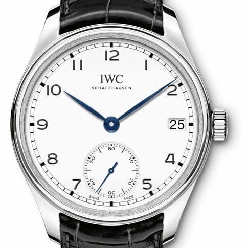 Sieger der Kategorie C bis 10.000 Euro: Die Portugieser Hand-Wound Eight Days Edition »150 Years« von IWC.