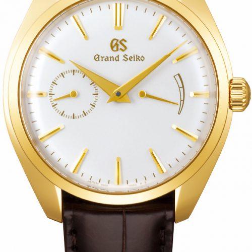 Ab Juli 2019 wird eine vierte Ausführung mit einem Gehäuse aus 18 Karat Gelbgold die Grand Seiko Kollektion ergänzen, die in Seiko Boutiquen und bei ausgewählten Handelspartnern erhältlich ist.