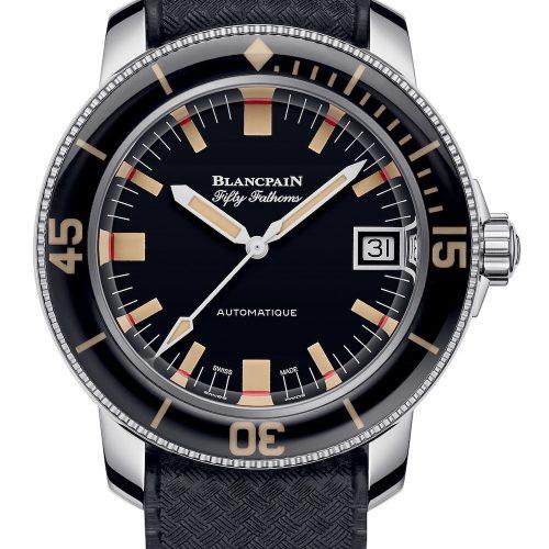 Die Fifty Fathoms Barrakuda von Blancpain geht auf ein Modell aus den 1960er Jahren zurück und ist auf 500 Exemplare limitiert.