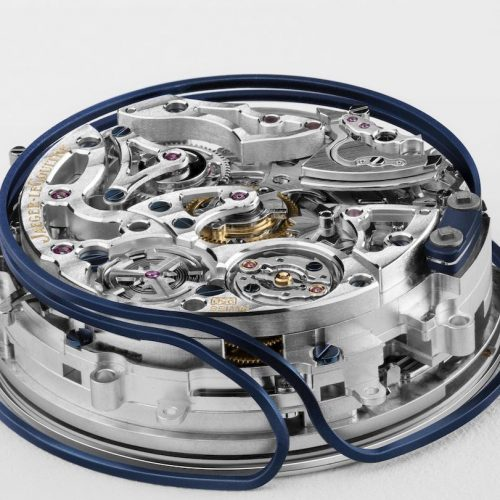 Das Kaliber 950 der Master Grande Tradition Répétition Minutes Perpetuell besitz helixförmig geformte Tonfedern.
