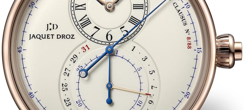Jaquet Droz Grande Seconde Chronograph Elfenbein Emaille