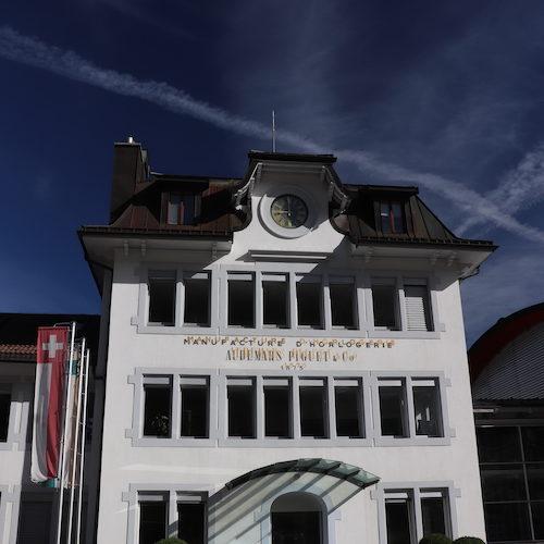 Der Hauptsitz von Audemars Piguet in Le Brassus.