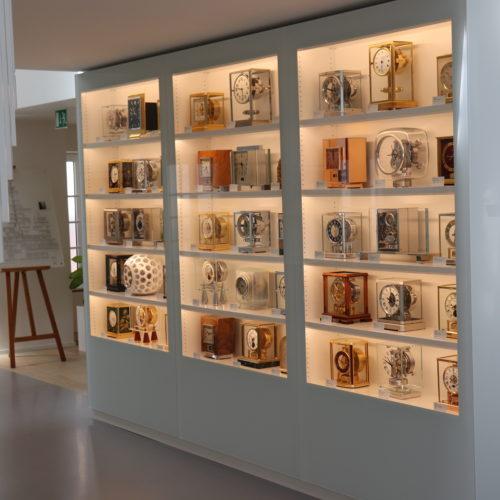 Die Atmos mit ihrer beeindruckenden Produktvielfalt in der Heritage-Gallery.