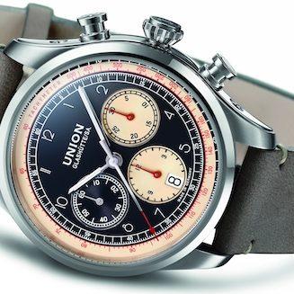 Der Belisar Chronograph von Union Glashütte besitzt einen Durchmesser von 44 Millimetern.