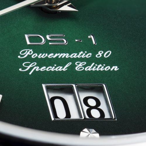 Das Großdatum der DS-1 Big Date Powermatic 80 von Certina ist mit einem kleinen Steg unterteilt.