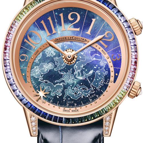 Die Rendez-Vous Celestial von Jaeger-LeCoultre mit violettem Zifferblatt.