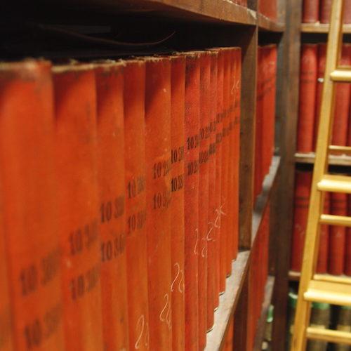 Das Longines-Archiv am Stammsitz im Schweizerischen St. Imier.