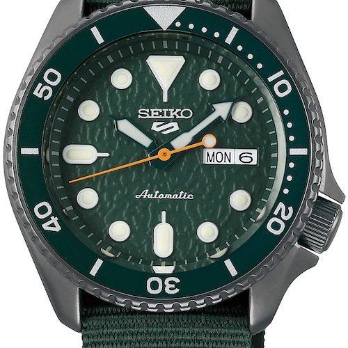 Die Seiko 5 Sports SRPD77K1 gehört zur Sense-Style-Familie. 299 Euro