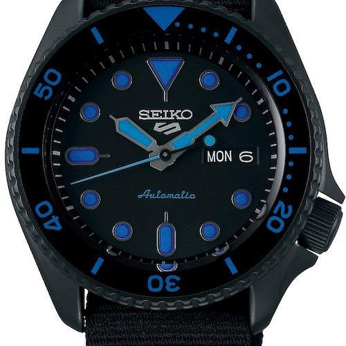 Die Seiko 5 Sports SRPD81K1 gehört zur Street-Style-Familie. 299 Euro