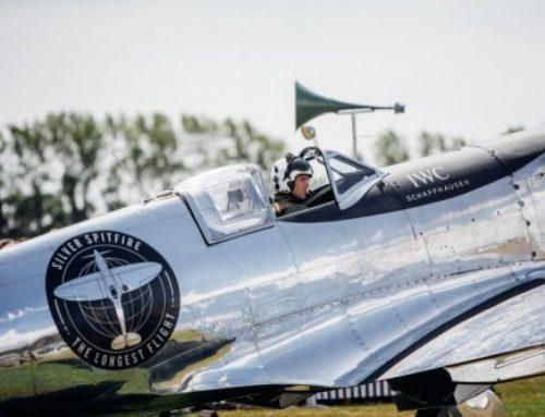 IWC: Silver Spitfire startet zur Weltumrundung