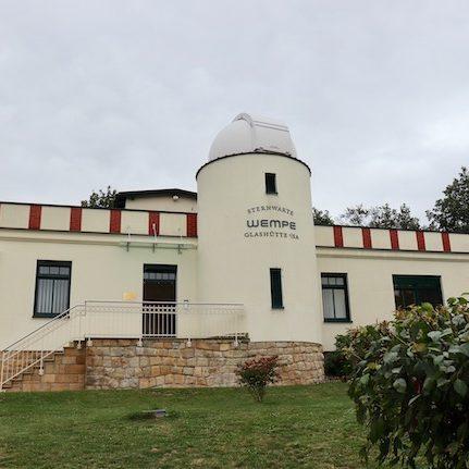 Die Sternwarte dient Wempe Glashütte als Produktionsstätte.