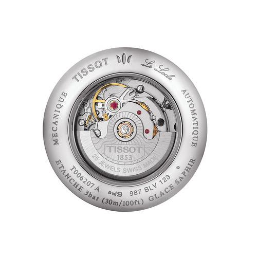 Das automatische Kaliber ETA 2671 bietet eine Gangreserve von 36 Stunden.