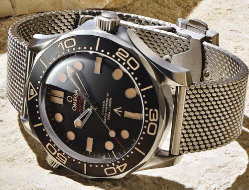 Omega: James-Bond-Uhr vorgestellt