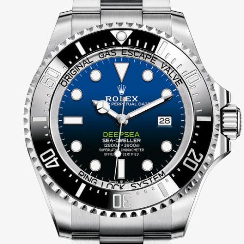 Die Deep Sea von Rolex ist wasserdicht bis 390 Bar.