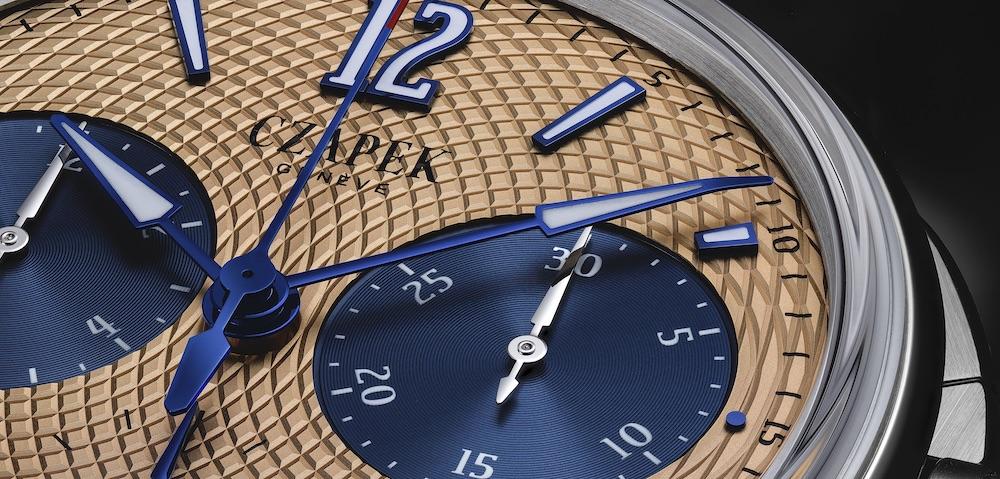 Czapek Chronograph mit Sockeye-Zifferblatt