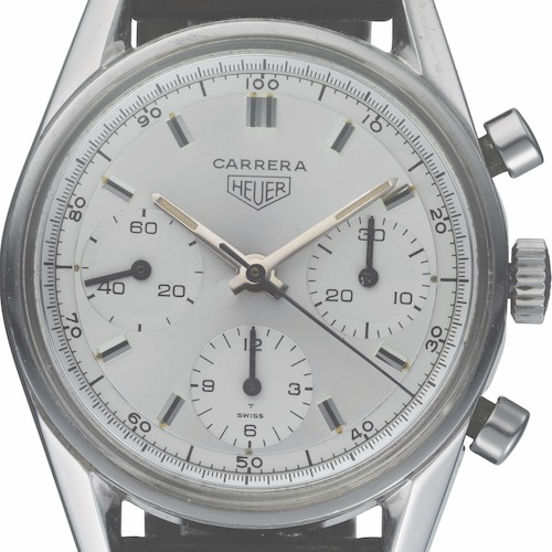 Der originale Carrera-Chronograph aus dem Jahre 1964.