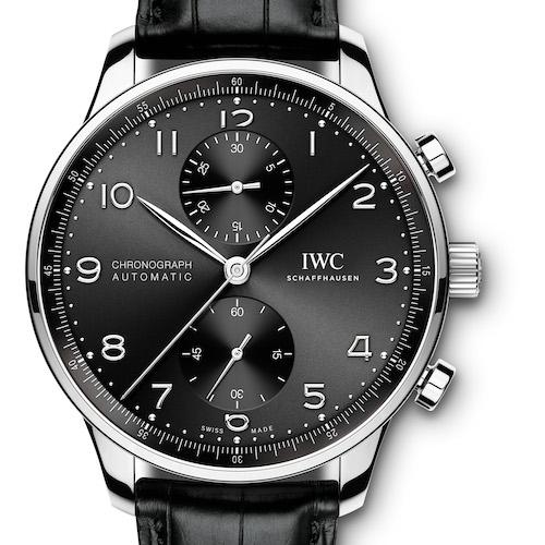 Die neuen IWC Portugieser Chronographen sind äußerlich unverändert.