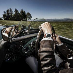 Die Austin-Healey wendet sich an sogenannte Gentlemen-Fahrer.