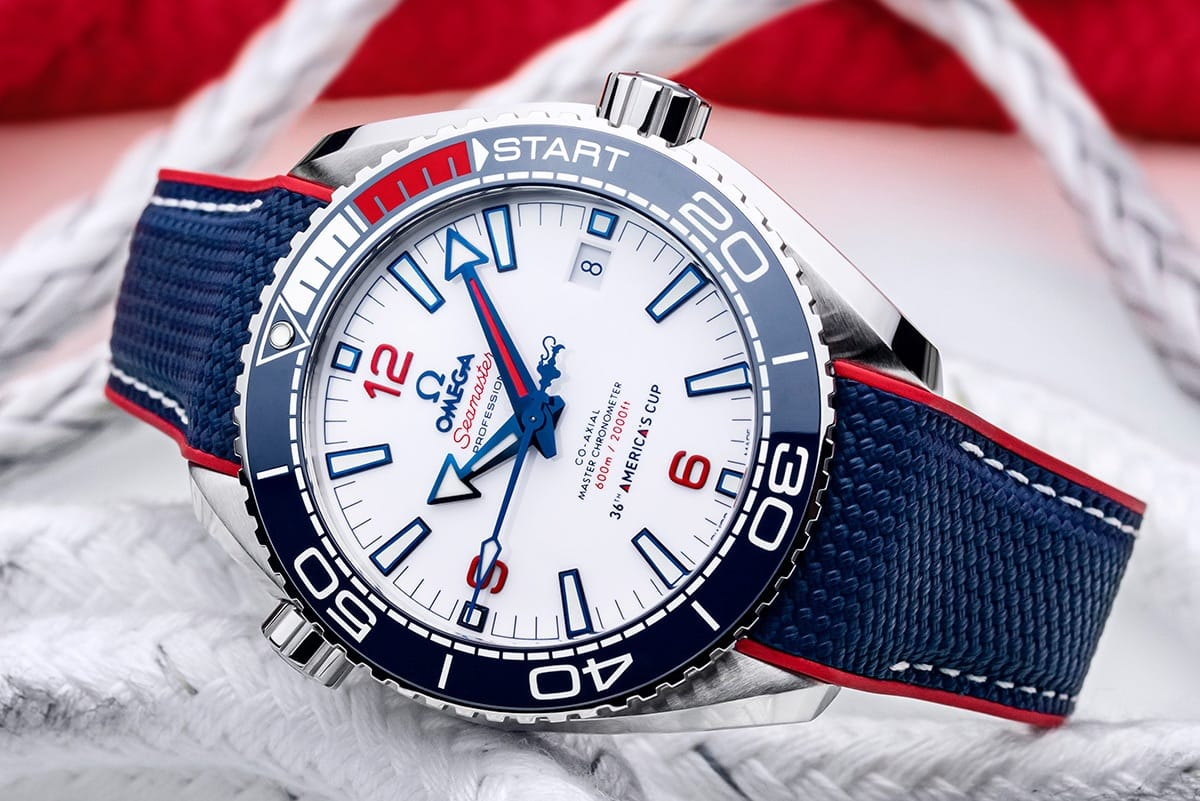 Omega Seamaster Plaent Ocean 36th Americas Cup