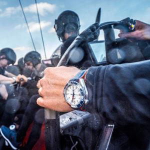 Omega unterstützt das Segelteam der Emirates New Zealand seit dem Jahr 1995.