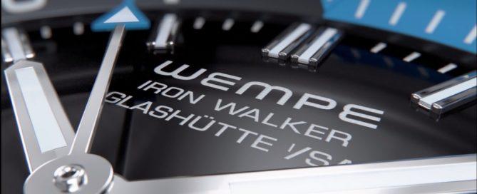 Wempe Glashütte Iron Walker Automatik Taucheruhr