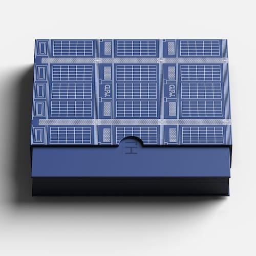 Die Zenith CHronomaster ist nur über E-Commerce erhältlich. Sie wird in einer besonderen Verpackung mit der Zeichnung der Manufaktur geliefert.