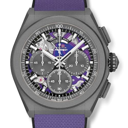 Der hoch getaktete Chronograph ist ein vom Timelab zertifiziertes Chronometer.