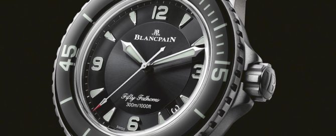 Taucheruhr Blancpain Fifty Fathoms 5015-12B30-98 World Ocean Day 2020