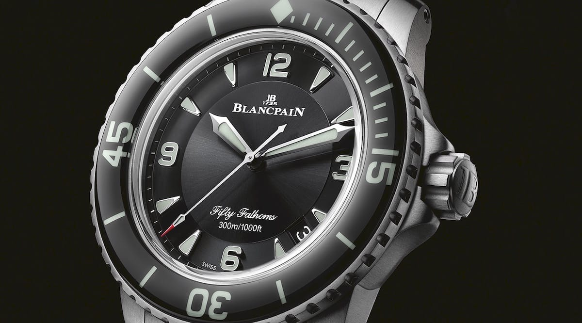 Taucheruhr Blancpain Fifty Fathoms 5015-12B30-98 World Ocean Day 2020