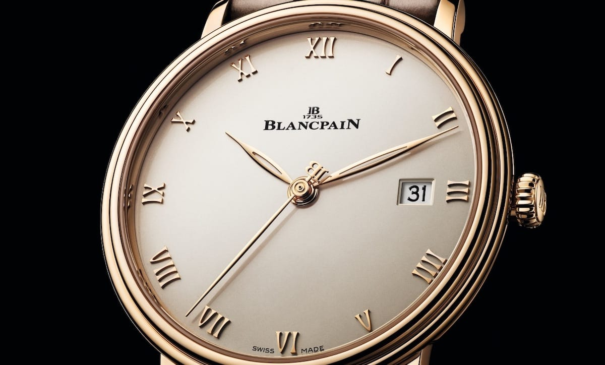 Blancpain Villeret Ultraplate Rotgold