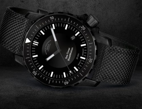 Mühle Glashütte: Sea-Timer Black Motion