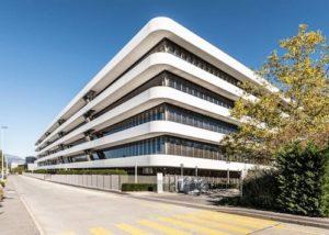 Die Patek-Philippe-Manufaktur besitzt insgesamt zehn Stockwerke.