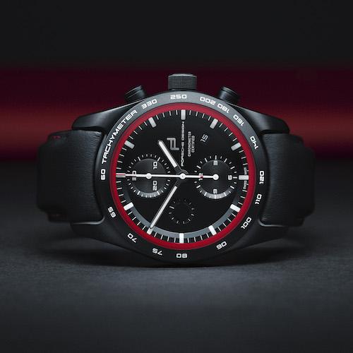 Die Saphirgläser der Porsche Design Armbanduhren sind siebenfach entspiegelt und hartbeschichtet.